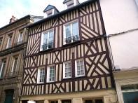 Normandia, Honfleur, arquietura normanda