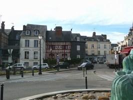 Normandia, Honfleur, centro histórico