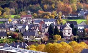 Normandia, Honfleur, vista do alto