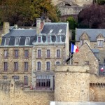 Normandia, Mont St-Michel, parte inferior