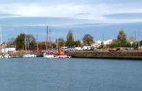 Normandia, Honfleur, porto