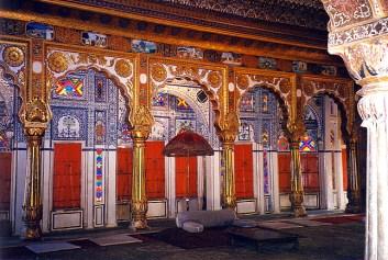 Índia, Jodhpur, interior do palácio