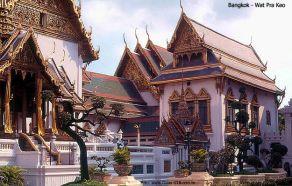 Templo do Bud da Esmeralda (Wat Pra Keo, em Bangkok