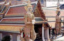 Wat Pra Keo, Bangkok, Tailândia