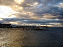 Ancoradouro em Puerto Natales, Chile
