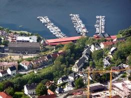 Bergen, Noruega, banca de alimentação no porto (13)