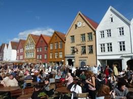 Bergen, Noruega, no verão - Foto Manual do Turista