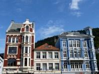Bergen, Noruega, o centro