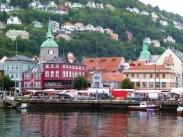 Bergen, na Noruega- Foto Manual do Turista