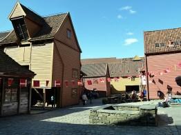 Bergen, Noruega,Brygeen, casas de madeira - Foto Manual do Turista