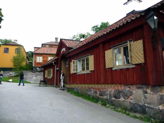 Casa antiga restaurada,