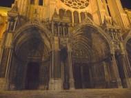 Catedral de Chartres à noite