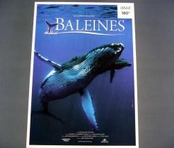 Cité des Sciences em Paris , document´rio sobre as baleias