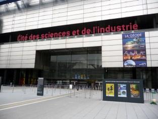 Cité des Sciences em Paris, entrada