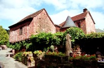 Collonges, la Rouge, Limousin, France