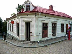 Comércio antigo restaurado, Estocolmo