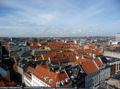 Copenhagen vista do alto
