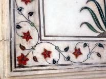 Delhi,detalhe palácio mongol no Red Fort