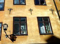 Fachada na Cidade Velha, Estocolmo