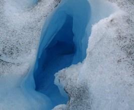 Fenda no Glaciar Perito Moreno