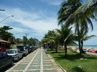 Guarujá, avenida da praia
