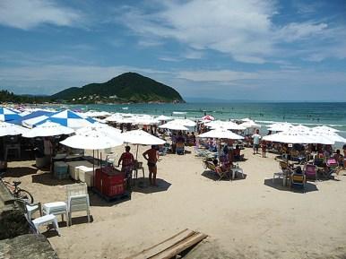 Guarujá, praia do Mar Casado
