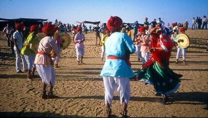 Jaisalmer, Índia, Festival das Tribos do Deserto