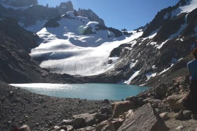 Lagoa de altitude no Fitz Roy