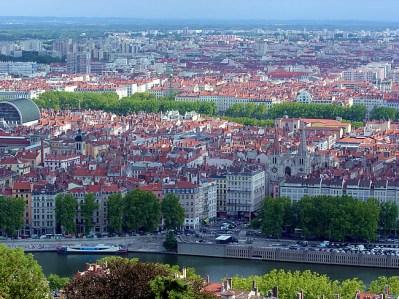 Lyon, panorama