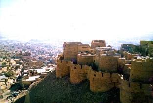 Muralhas de Jaisalmer