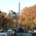 Paris no outono