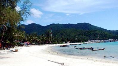 Praia em Phi-Phi Island