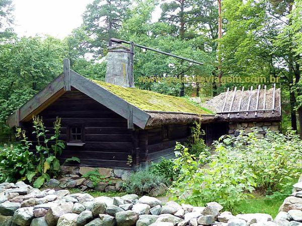 Residência rural, Suécia