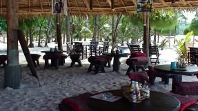 Sede dos chalés nas praias