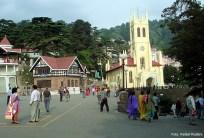 Simla, área central, Índia