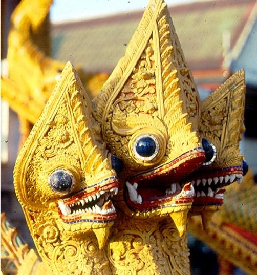 Tailândia, Chiang Rai, detalhe de tempo