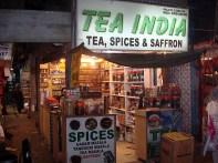Velha Delhi, venda de chás