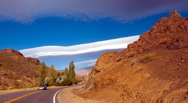 Estrada próxima a Neuquén