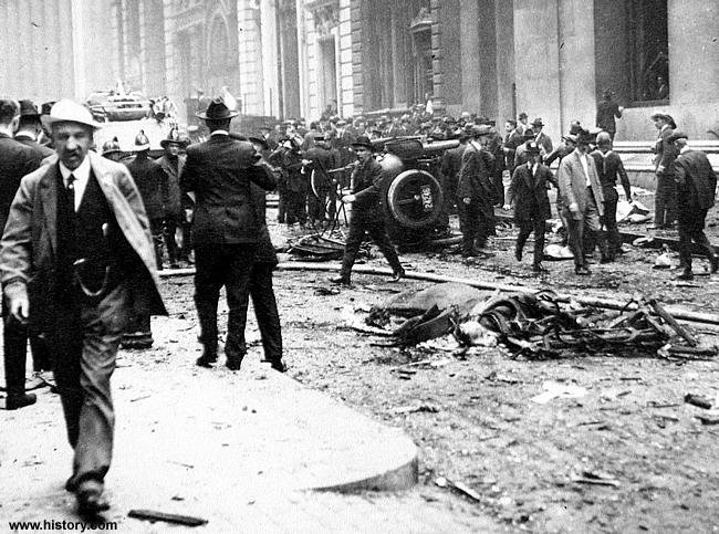 Queda da Bolsa de New York - Foto www.history.com