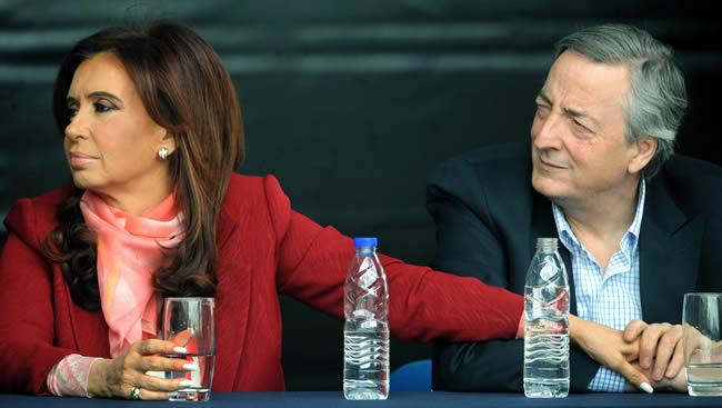 Nestor e Cristina Kirchner