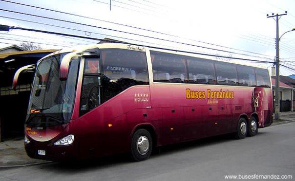 Ônibus no Chile