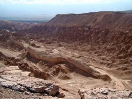 Chile, Valle de la Muerto, Deserto do Atacama