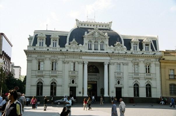 Correio Central, Santiago, Chile