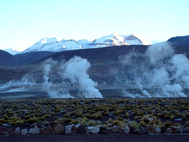Geiser El Tatio, Atacama, Chile
