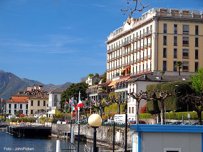 Grand Hotel em Tremezzo, Itália - Foto John Picken CCBY