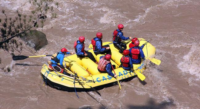 Rafting no Chile