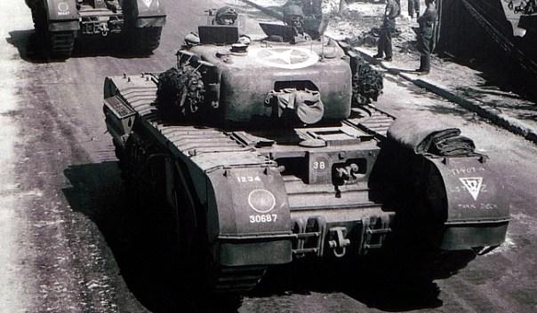 Tanque americano na Segunda Guerra
