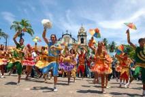 Olinda, passistas de frevo - Foto Prefeitura de Olinda CCBY