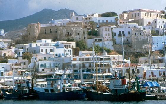 Ilhas gregas no verão