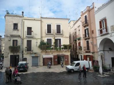 Bari, centro antigo medieval